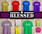 BLESSED ARABIC FONT TSHIRT ENGLISH FONTS HIGH QUALITY *BLESSED*