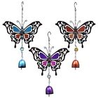 Внешний вид - Brand New Metal Butterfly Bell Wind Chimes 3 Choices Free Shipping US Seller