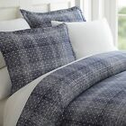 Hotel Quality 3 Piece Polka Dot Patterned Duvet Cover Set - 4 Beautiful Colors!