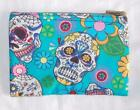 HAND MADE FAIR TRADE HIPPY BOHO CANDY SKULL COTTON PURSE FROM MOROCCO