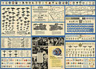 Diagrams Aircraft Profiles Maneuvers Construction Military Insignia Poster Print