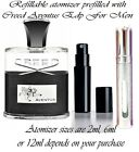 Creed Aventus Eau De Parfum For Men 2ml 6ml or 12ml atomizer batch FP4216K01