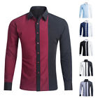 Long Sleeves Men's Blouse Fashion Shirt hombres Camisa Hombres Ropa OZ