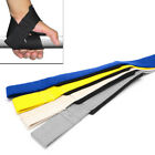 GYM TRAINING WEIGHT GRIP LIFTING POWERLIFTING HAND WRAPS WRIST STRAP SUPPORT Hot
