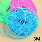 Travel Outdoor Home Clothesline Rope Hook Washing Clothes Portable Non Slip