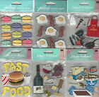 U CHOOSE  Assorted Jolee's FOOD & DRINK 3D Stickers citrus cupcakes bubblegum