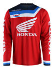 NEW 2018 TROY LEE DESIGNS GP AIR PRISMA HONDA HRC MOTOCROSS JERSEY RED ALL SIZES