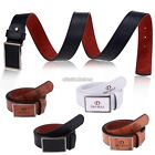 Fashion Men Casual Waistband Synthetic Leather Automatic Buckle Belt Waist N98B