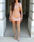 MISSGUIDED carli bybel silky cami dress pink (M5/8)