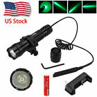 Tactical Mount Rifle Green LED Hunt 6000lm Weaver 250yards Flashlight PicatinnyLights & Lasers - 106974