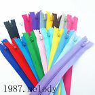 5/20/100/200pcs Nylon Coil Zippers Tailor Sewer Craft 9 inch Crafter DIY tools