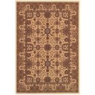 Couristan Himalaya Kailash Antq Cream  Persian Red Rug