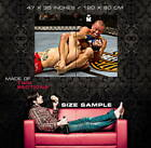 Georges St-Pierre GSP vs Dan Hardy MMA Mixed Martial Arts POSTER Affiche