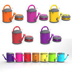 COLOURWAVE Premium Collapsible Watering Can, 2.4-Gallon, Pivoting handle, NEW
