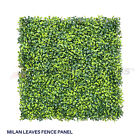 """Artificial Faux Boxwood Milan Leaves Leaf Decorative Fence Screen 20'' x 20"""""""