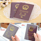 NEW Genuine Leather Passport Cover ID Card Holder Wallet Travel Case Handmade