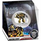 """Buy """"Transformers Dark Of The Moon 1oz Proof Silver Coin - Optimus Megatron Bumblebee"""" on EBAY"""