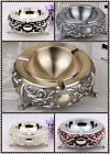 luxury alloy ashtray gift for man she retro style fashion bar living room