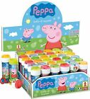 Peppa Pig Bubble Blowing Tubs Childrens Party Bag Filler Toys