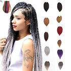 "3X Box Braids 14""  18""  22""  24""  20roots Various Synthetic  Crochet Braids Hair"