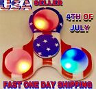 USA FLAG LED TRI SPINNER FIDGET,  CAMOFLAGE, LED, GLOW IN THE DARK, CHRISTMAS GIFT