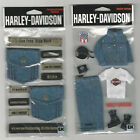U CHOOSE  Assorted Harley Davidson DENIM 3D Stickers clothing pockets $7.91 USD on eBay