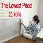 20X Wholesale 3D Brick Pattern Wallpaper Modern Wall Background TV Bedroom Decor