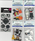 U CHOOSE  Assorted Sandylion HALLOWEEN 3D Stickers skull witch bat spider treats