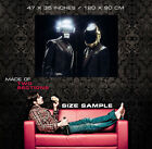 Daft Punk French house Music Duo Helmet Robot Print POSTER Plakat
