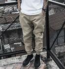 Casual Mens Outdoor Loose Style Pants Small Feet Long Running Trousers M-4X A487