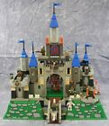 2000 LEGO Knights Kingdom w/o Seige Cart~King Leos Castle #6091 w/Plastic Base