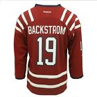 NHL Washington Capitals Youth Size Nicklas Backstrom Reebok Hockey Jersey New