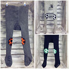 Baby Boy Toddler Cotton Tights Pants Double Anti Slip ABS Sole Crawling Crown