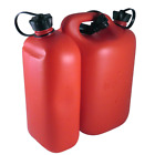 Oregon Waipoua 5L of Fuel + 3L of Chain Oil Combi Can - Red / Translucent