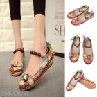 US HOT Womens Casual Beads Ballet Flats Shoes Slip On Boat Loafers Single Shoes