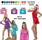 Sassy Dance Costume PLAIN,BIRD,PAW Go Go Tap Dress and Shorts CM,CL,CXL,AS,AM,AL