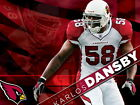 Karlos Dansby Arizona Cardinals NFL Wall Print POSTER UK