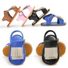Fashion Infant Girls Cute Summer Sandals Toddler Artificial PU Soft Sole Shoes
