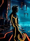 TRON Legacy CLU Jeff Bridges Wall Print POSTER UK