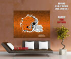 Cleveland Browns Logo Football NFL Wall Print POSTER US
