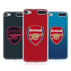 OFFICIAL ARSENAL FC 2017/18 CREST KIT SOFT GEL CASE FOR APPLE iPOD TOUCH MP3