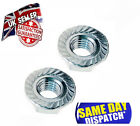 A4 Flange Nuts Stainless Steel SERRATED HEX NUT, METRIC SIZES M5, M6, M8, M10