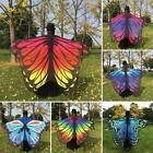 Fashion Women Butterfly Wing Large Cape Scarf Printing Beach Cover Up Shawl CKW