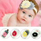 Baby Girls Kids Toddler Elastic Flower Pearl Hairband Hair Accessories Headband
