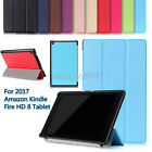 8'' For 2017 Amazon Kindle Fire HD 8 HD8 7th Generation Smart Case Cover Leather