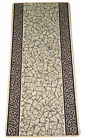 Garden Path Gold & Brown Washable Non-Skid Carpet Rug Runner