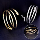 Coiled Snake Spiral Upper Arm Cuff Armlet Armband Bangle Bracelet Alloy Anklet