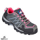 Himalayan 4302 S1P SRC Ladies Pink Grey Composite Toe Metal Free Safety Trainers