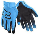 17287-002  Fox Airline Moth Adult MX ATV Motorcycle Off Road Blue Gloves