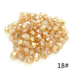 Wholesale Bicone Faceted 5301# Crystal Glass Loose Spacer Beads DIY 3mm4mm6mm